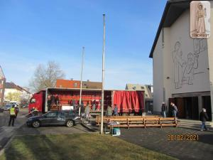 HKM Ludwigshafen preuzeli dva šlepera crkvenih stvari iz Kaiserslauterna i poslali ih u Sisačku biskupiju 20.02.2021.